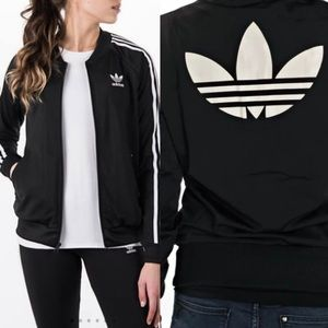 Adidas Women's Black Track Jacket